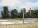 452 Ratio: TRACKSIDE ACCESSORIES  Telegraph Poles, (16 per pack)